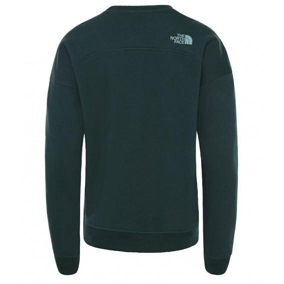The North Face Drew Peak Crew Damen Pullover Sweater ponderosa green hier im The North Face-Shop günstig online bestellen