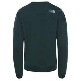 The North Face Drew Peak Crew Damen Pullover Sweater ponderosa green