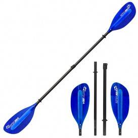 ExtaSea Pro-XL Carbon Vario Doppelpaddel | 220-240cm | 4-teilig | dark blue