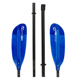 ExtaSea Pro Tour Carbon Vario Doppelpaddel | 220-240cm | 4-teilig | dark blue hier im ExtaSea-Shop günstig online bestellen