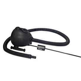 Bravo GE OV6 230V elektrische Luftpumpe für Schlauchboote, Luftmatratzen schwarz