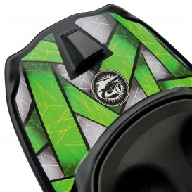 ExtaSea Kneeboard Freestyle Knieboard lime smoke