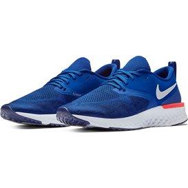 Nike Odyssey React 2 Flyknit 400 Herren Laufschuhe Sportschuhe indigo force-white blue