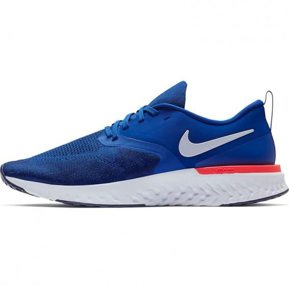 Nike Odyssey React 2 Flyknit 400 Herren Laufschuhe Sportschuhe indigo force-white blue im ARTS-Outdoors NIKE-Online-Shop günstig