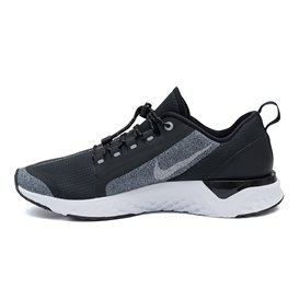Nike Odyssey Reacat Shield Damen Laufschuhe Sportschuhe schwarz-grau melange hier im NIKE-Shop günstig online bestellen