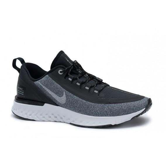 Nike Odyssey Reacat Shield Damen Laufschuhe Sportschuhe schwarz grau melange