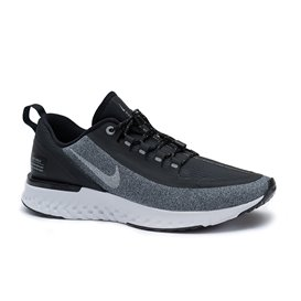 Nike Odyssey Reacat Shield Damen Laufschuhe Sportschuhe schwarz-grau melange