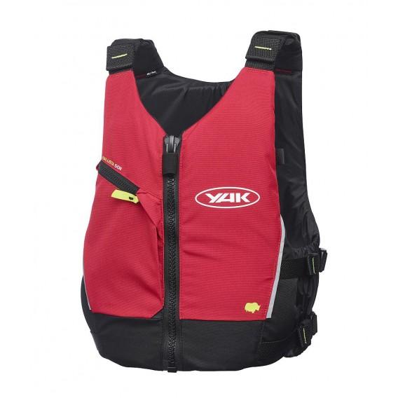 Yak Kallista Paddel und Schwimmweste 50N rot hier im YAK-Shop günstig online bestellen