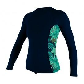 ONeill Side Print Longsleeve Rashguard Damen navy im ARTS-Outdoors ONeill-Online-Shop günstig bestellen