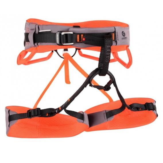 Mammut Comfort Fast Adjust Harness Damen Klettergurt Hüftgurt shark-safety orange hier im Mammut-Shop günstig online bestellen