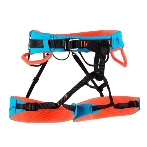 Mammut Sender Fast Adjust Harness Klettergurt Hüftgurt ocean-safety orange hier im Mammut-Shop günstig online bestellen