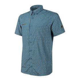 Mammut Lenni Shirt Herren Outdoor und Freizeit Kurzarmhemd horizon-olive hier im Mammut-Shop günstig online bestellen