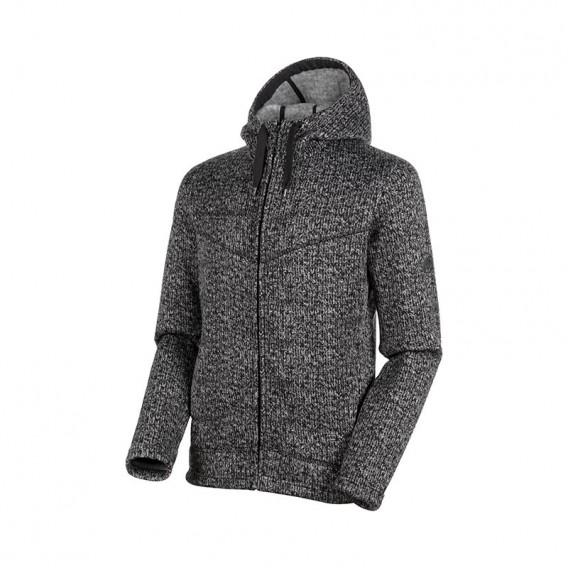 Mammut Chamuera ML Hooded Jacket Herren Fleecejacke black hier im Mammut-Shop günstig online bestellen