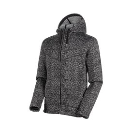 Mammut Chamuera ML Hooded Jacket Herren Fleecejacke black