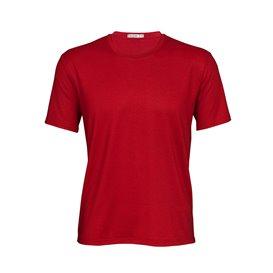 Palgero Ari Merino Herren T-Shirt Kurzarm Funktionsshirt rot