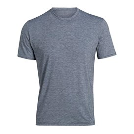 Palgero Ari Bioactive Herren T-Shirt Kurzarm Funktionsshirt blau meliert