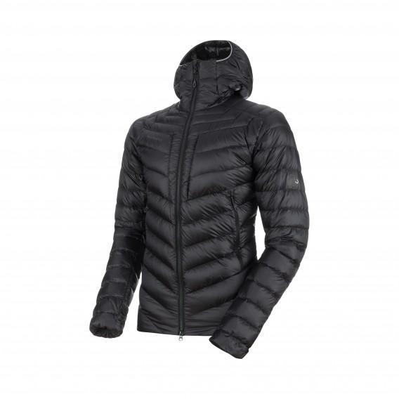auf Füßen Bilder von autorisierte Website Niedriger Verkaufspreis Mammut Broad Peak IN Hooded Jacket Herren Winterjacke Daunenjacke  black-phantom