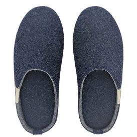 Gumbies Outback Slipper Herren Hausschuhe Hüttenschuhe navy-grey hier im Gumbies-Shop günstig online bestellen