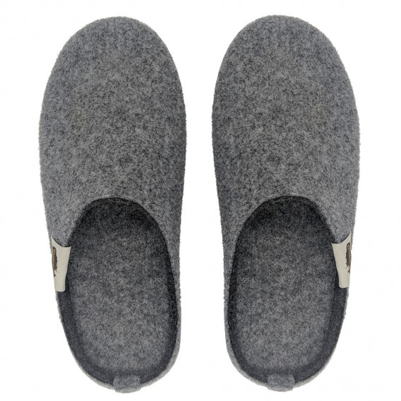 Gumbies Outback Slipper Damen und Herren Hausschuhe Hüttenschuhe grey-charcoal hier im Gumbies-Shop günstig online bestellen