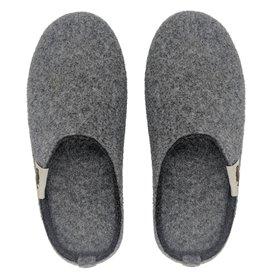Gumbies Outback Slipper Damen und Herren Hausschuhe Hüttenschuhe grey-charcoal