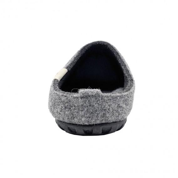 Gumbies Outback Slipper Damen und Herren Hausschuhe Hüttenschuhe grey-charcoal im ARTS-Outdoors Gumbies-Online-Shop günstig best