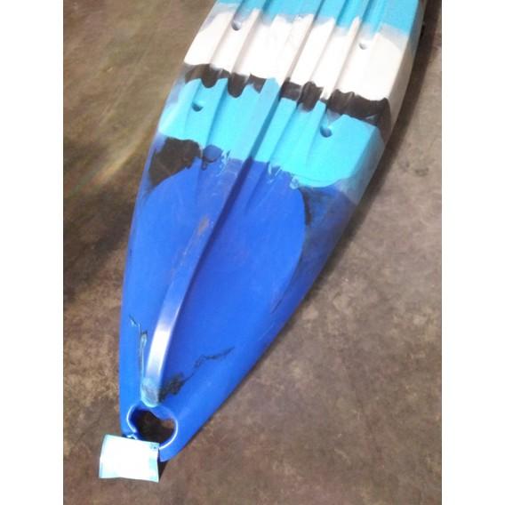 ExtaSea-Yak 390 Pro B-WARE 2er Sit on Top Kajak Set + 2 Paddel & Kajaksitze blau im ARTS-Outdoors ExtaSea-Online-Shop günstig be