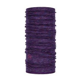 Buff Lightweight Merino Wool Schal Mütze Tuch aus Merinowolle purple multi stripes