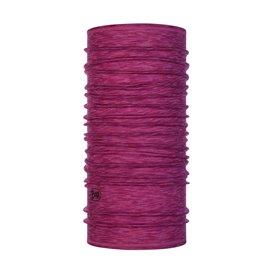 Buff Lightweight Merino Wool Schal Mütze Tuch aus Merinowolle raspberry multi stripes