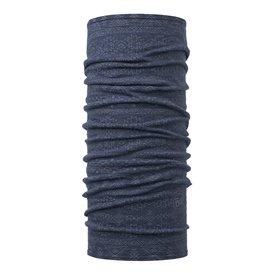 Buff Lightweight Merino Wool Schal Mütze Tuch aus Merinowolle edgy denim