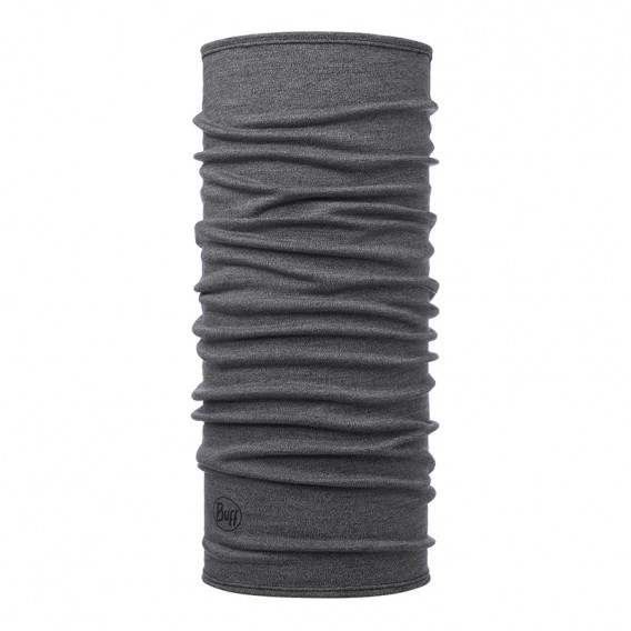 Buff Midweight Merino Wool Schal Mütze Tuch aus Merinowolle light grey melange im ARTS-Outdoors Buff-Online-Shop günstig bestell