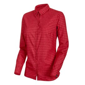 Mammut Winter Longsleeve Shirt Damen Sweatshirt Langarmshirt scooter-dragon fruit