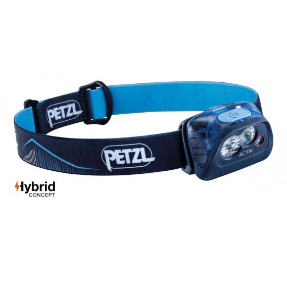 Petzl Actik Stirnlampe Helmlampe 350 Lumen dunkelblau hier im Petzl-Shop günstig online bestellen
