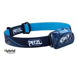 Petzl Actik Stirnlampe Helmlampe 350 Lumen dunkelblau