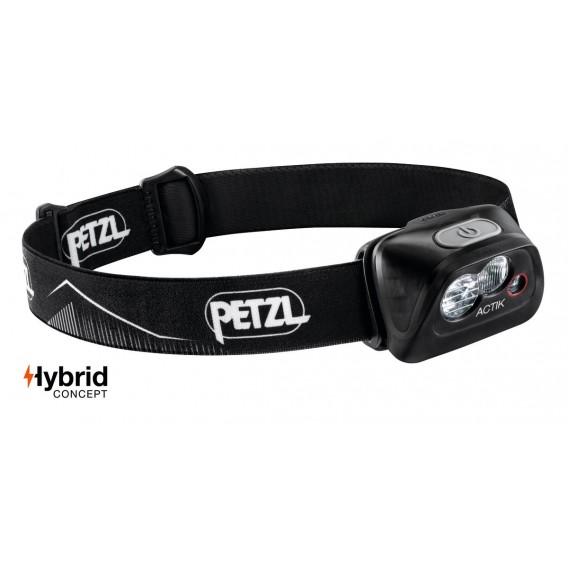 Petzl Actik Stirnlampe Helmlampe 350 Lumen schwarz hier im Petzl-Shop günstig online bestellen