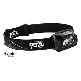 Petzl Actik Stirnlampe Helmlampe 350 Lumen schwarz
