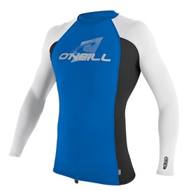 ONeill Youth Premium Skins Longsleeve Rashguard Kinder blau