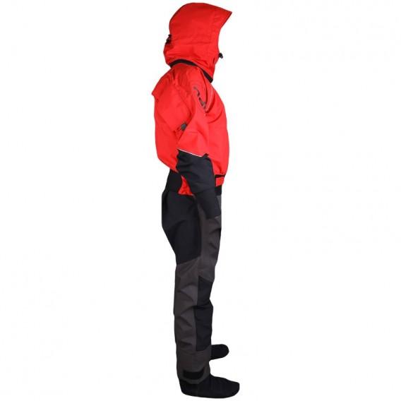 Hiko Odin 402 Hood Paddeljacke mit Hose Trocken- Paddelanzug mit Kapuze red hier im Hiko-Shop günstig online bestellen