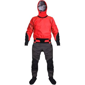 Hiko Odin 402 Hood Paddeljacke mit Hose Trocken- Paddelanzug mit Kapuze red im ARTS-Outdoors Hiko-Online-Shop günstig bestellen