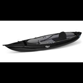 Gumotex Rush I Kajak 1er Drop-Stitch Nitrilon Kajak Luftboot schwarz