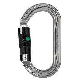 Petzl OK ovaler Karabiner für Seilrollen und Seilklemmen mit Ball-Lock