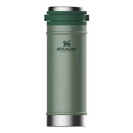 Stanley Classic Vakuum Travel Press 0,473l Trinkbecher Thermobecher grün