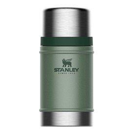 Stanley Classic Food Container 0,7l Vakuum Edelstahl Isolierbecher grün