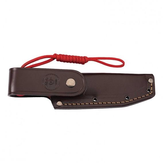 Nieto Bosque Grenadill Jagdmesser Gürtelmesser mit Lederscheide hier im Nieto-Shop günstig online bestellen