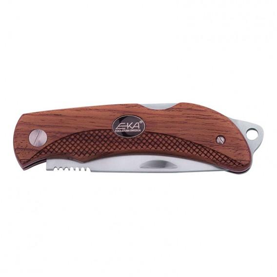 EKA Taschenmesser Klappmesser mit Holzgriff und Nylon Etui hier im EKA-Shop günstig online bestellen