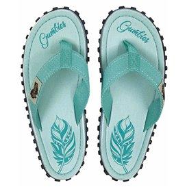 Gumbies Boho Mint Zehentrenner Badelatschen Sandale mint