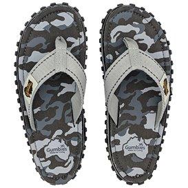 Gumbies Grey Camouflage Zehentrenner Flip-Flops Sandale grau hier im Gumbies-Shop günstig online bestellen