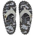 Gumbies Grey Camouflage Zehentrenner Badelatschen Sandale grau