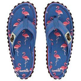 Gumbies Flamingo Kids Kinder Zehentrenner Flip-Flops Sandale blau hier im Gumbies-Shop günstig online bestellen