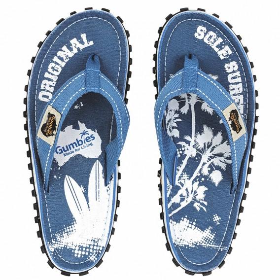 Gumbies Palm Kinder Zehentrenner Badelatschen Sandale blau hier im Gumbies-Shop günstig online bestellen