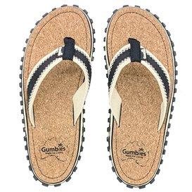 Gumbies Corker Zehentrenner Badelatschen Sandale black